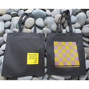 Black Canvas Bowdoin College Museum of Art 2019 Tote Bag