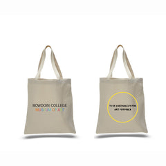 2014 Bowdoin College Museum of Art Cream Tote