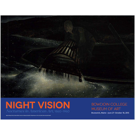 Poster for Night Vision: Nocturnes in American Art, 1860-1960