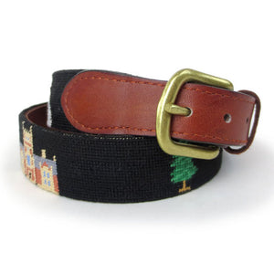 Bowdoin Life Needlepoint Belt from Smathers & Branson