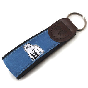 Bowdoin Leather Key Fob from Belted Cow
