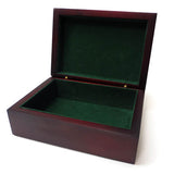 Rosewood Box with Engraved Seal