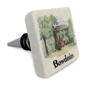 Massachusetts Hall Stone Wine Stopper