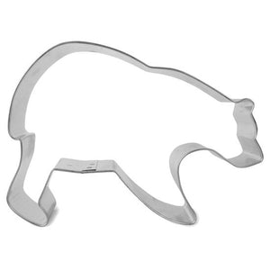 Bear-shaped cookie cutter.