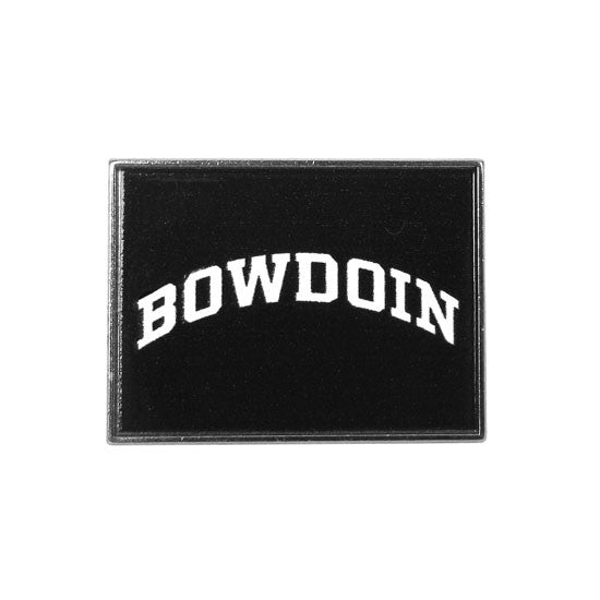 Foxboro Rectangular Bowdoin Lapel Pin