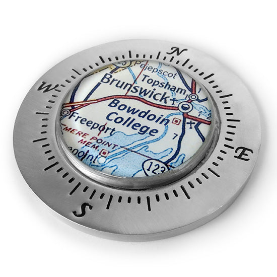 Compass Paperweight from Chart Metalworks