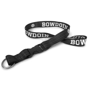 Sublimated Lanyard with Bowdoin & Medallion