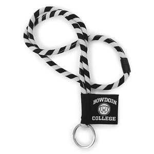 Seville Striped Lanyard