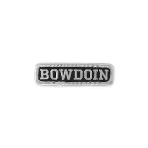 Black & White Bowdoin Patch