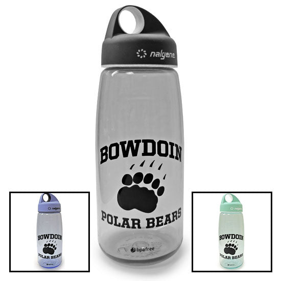 Bowdoin Polar Bears Nalgene with Rubberized Loop Top