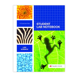 Biology lab notebook