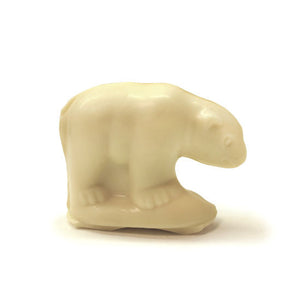 White chocolate polar bear.