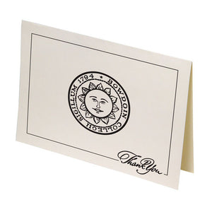 Boxed Bowdoin Seal Thank You Cards