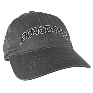 Youth Hat with Arched Bowdoin
