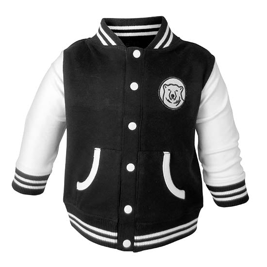 6697690d4 Varsity Jacket for Baby and Toddler from Creative Knitwear – The ...