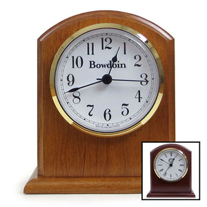 Personalized Dublin Desk Clock from New Hampshire Clocks
