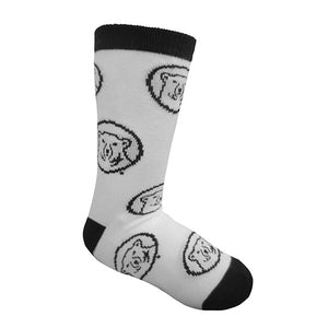 Children's Mascot Medallion Socks