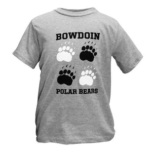 Children's Stacked Pawprint Tee from Third Street
