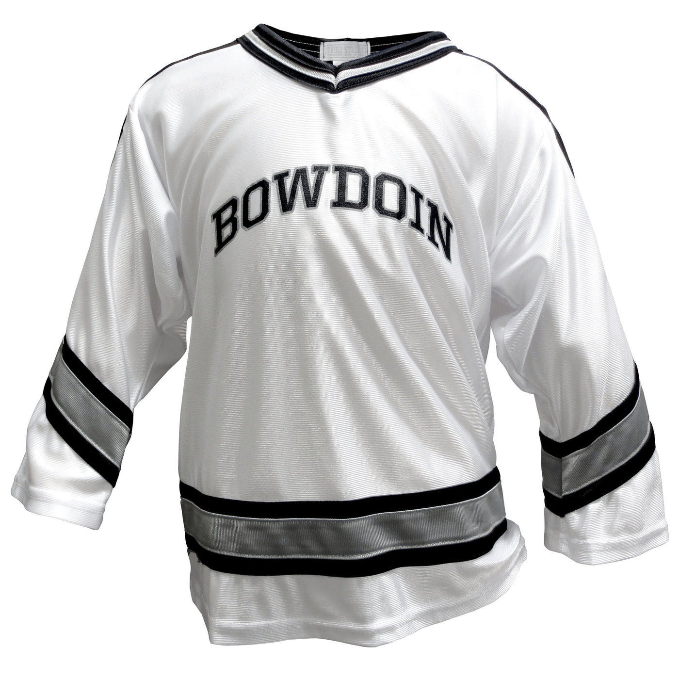 Children s Dazzle Hockey Jersey with Arched Bowdoin – The Bowdoin Store 151cd68eb42