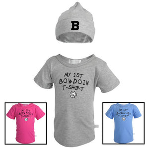 My 1st Bowdoin Hat & T-Shirt Set