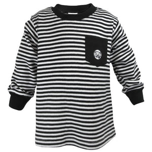 Toddler Striped Long-Sleeved Tee from Creative Knitwear