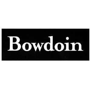Bowdoin Wordmark Decal