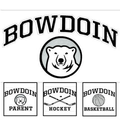Bowdoin Cutting Edge Vinyl Transfer Decal