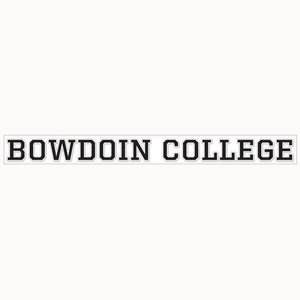 Bowdoin College 14-Inch Decal