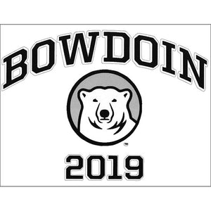 Bowdoin 2019 Vinyl Transfer Decal