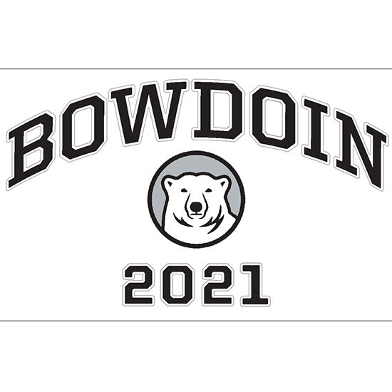 Bowdoin 2021 Vinyl Transfer Decal