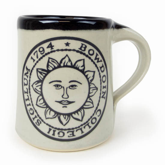 Bowdoin Seal Mug from Great Bay Pottery