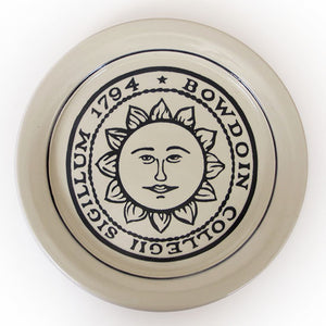 Bowdoin Seal Plate from Great Bay Pottery