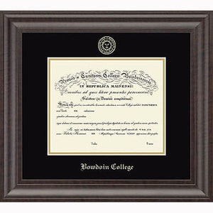 Embossed Acadia Edition Diploma Frame