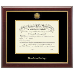 Engraved Gallery Diploma Frame