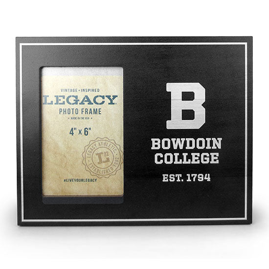 Wooden Bowdoin College Photo Frame from Legacy