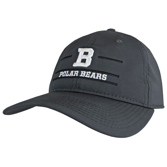 Graphite B Polar Bears Hat from The Game – The Bowdoin Store 148e289bc68