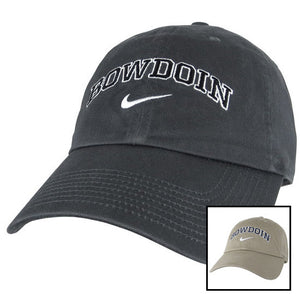 Campus Cap with Bowdoin & Swoosh from Nike