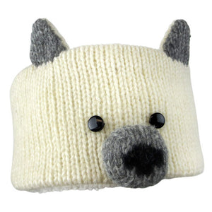 Petra the Polar Bear Headband from Knitwits