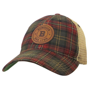 Plaid Trucker Hat from Legacy