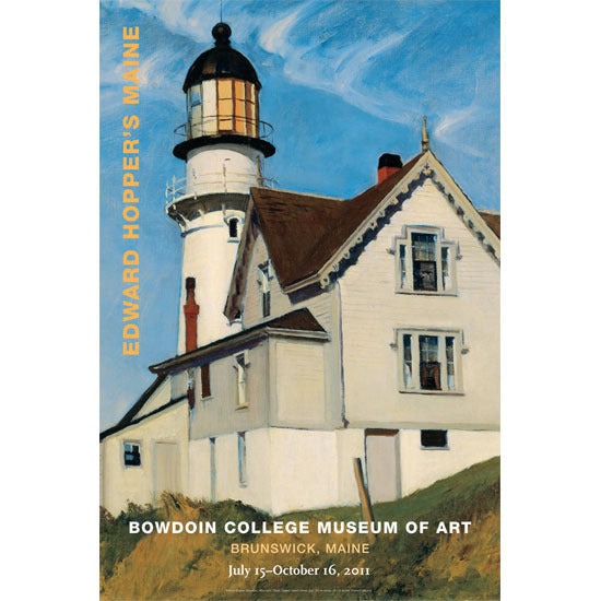 Edward Hopper's Maine Poster