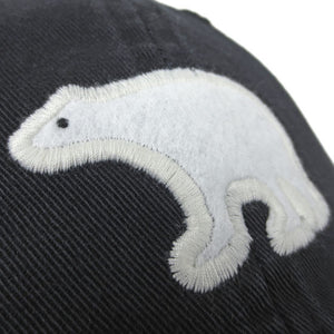 Women's Twill Hat with Bear