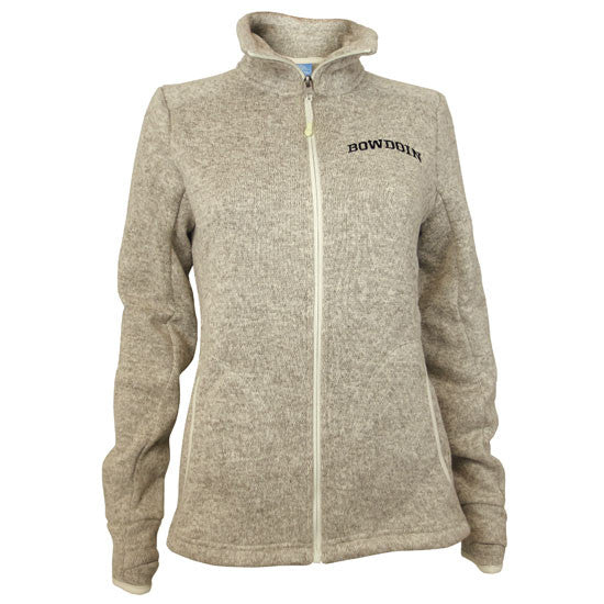 Women's Heathered Fleece Full Zip from Charles River