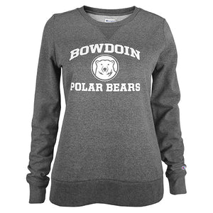 Women's Bowdoin Polar Bears University Crew from Champion