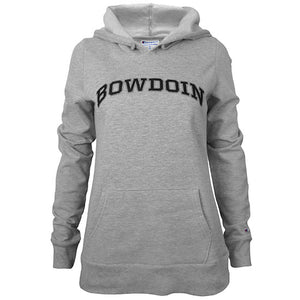 Women's University Hood with Black & Gray Appliqué from Champion