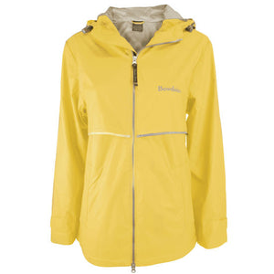 Women's New Englander Rain Jacket from Charles River