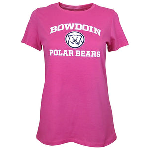 Women's University Tee with Bowdoin Polar Bears from Champion