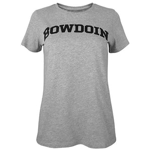 Women's University Tee with Bowdoin from Champion