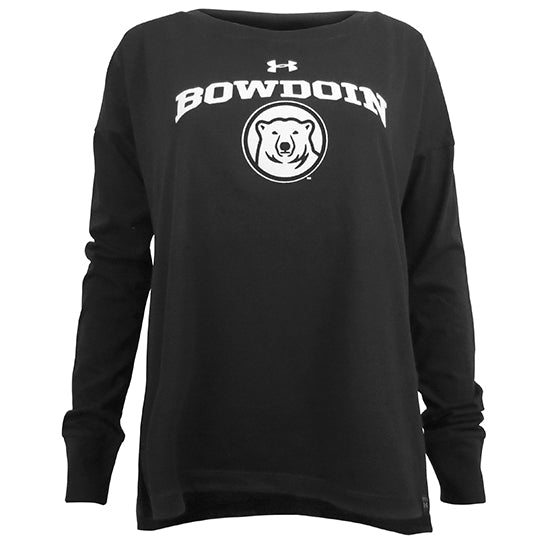 Women's Performance Cotton Long-Sleeved Tee from Under Armour