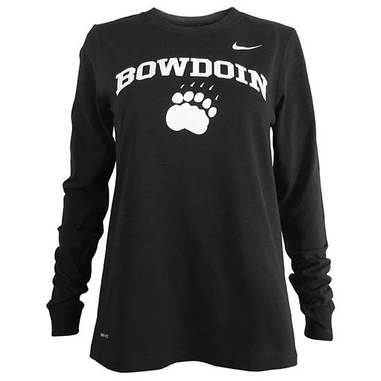 Women's Dri-Fit Cotton Long-Sleeved Tee from Nike