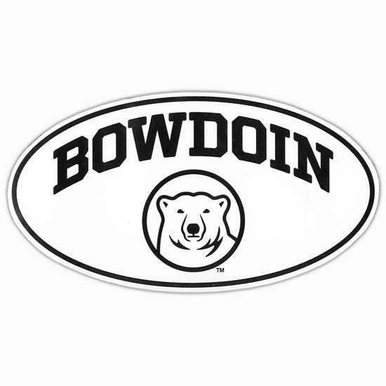 Game Day Oval Bowdoin Magnet from CDI